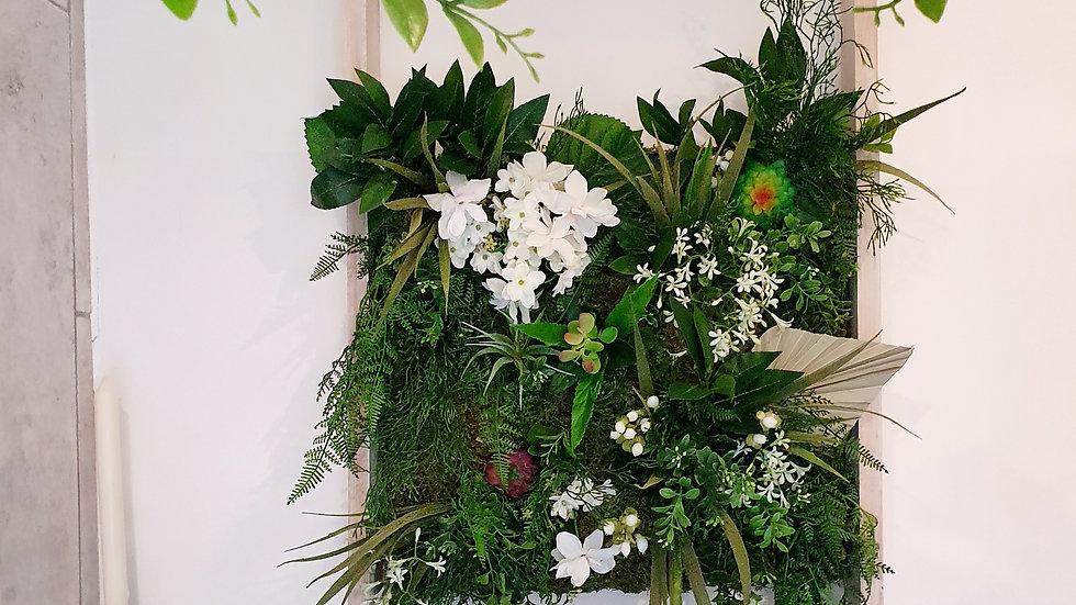 Fierce foliage frame