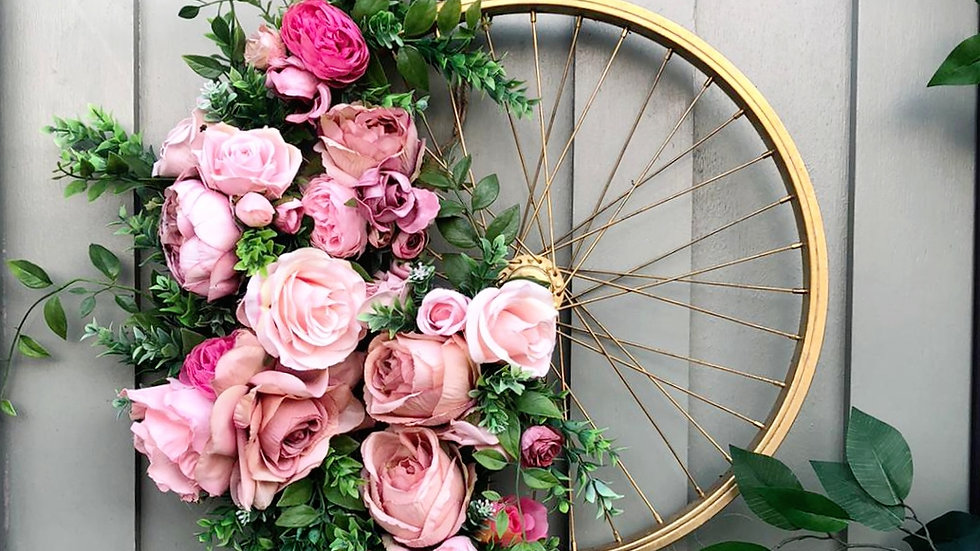 The blooming bicycle