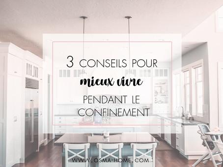 Restez efficaces et organisés pendant le confinement en suivant ces 3 conseils supers simples !