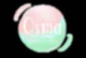 Logo Osma-vert-rose-sérénité