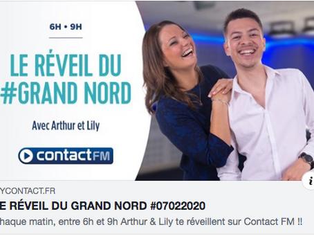 Osma passe sur la radio Contact FM Hauts-de-France !