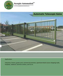Automatic Telescoipc Gates