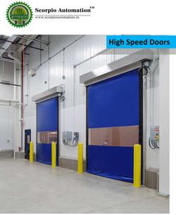 High Speed PVC Rolling Door