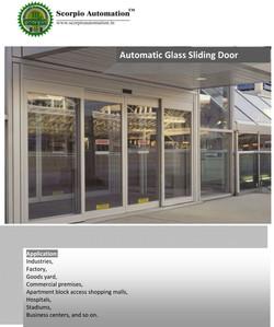 Automatic Sliding Glass Door