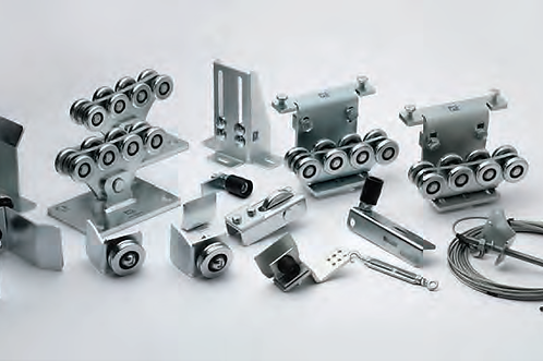Trackless Telescopic Cantilever Hardware Kit