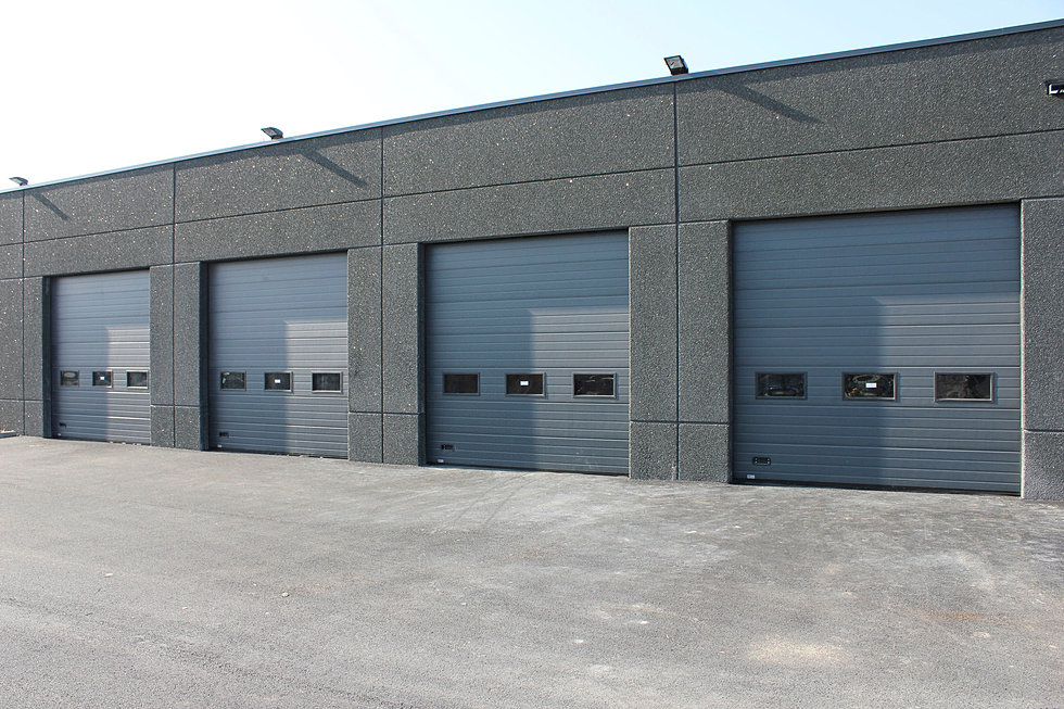 industrial sectional doors. Scorpio Automation industrial sectional doors