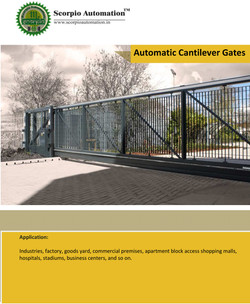 Automatic Cantilever Sliding gates