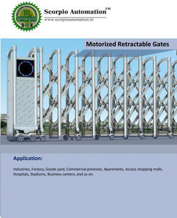 Motorized Retractable Gates