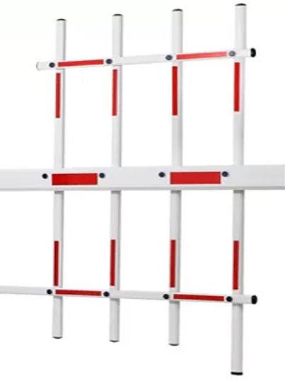 Boom Barrier Arm Three Fence