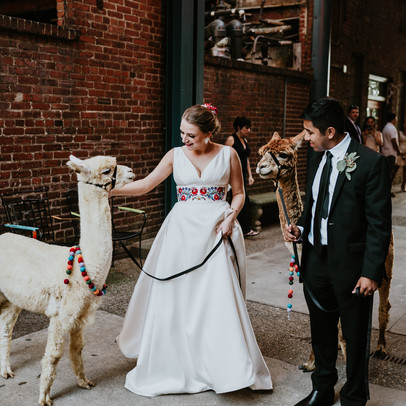 Emily and Pedro - St. James Catholic Church & Mellwood Arts Center - Louisville, KY with PADBL