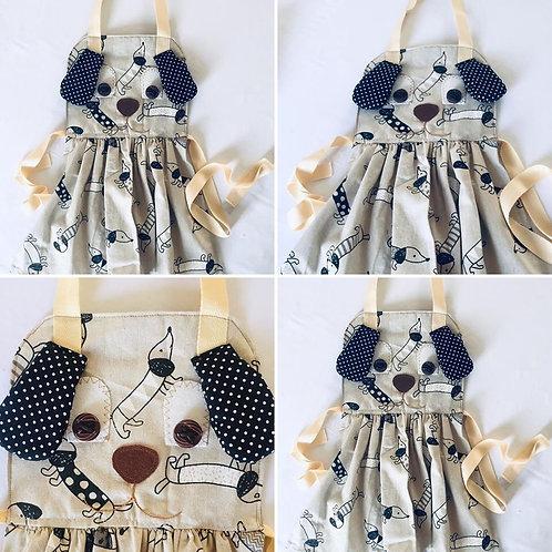 Dog Apron Sewing Pattern, Mini chef, Apron pattern,Kiddies Apron