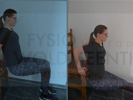Oefenprogramma 3/5: Arm- en schouders.