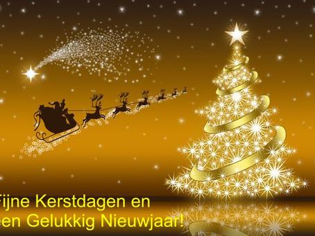 Fijne kerstdagen en een gelukkig en gezond 2018