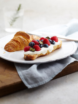 berry cream croissant