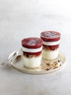 raspberry yoghurt