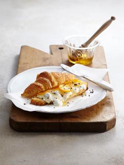 kumquat cheese croissant