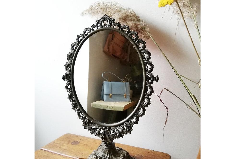 miroir psyché années 50