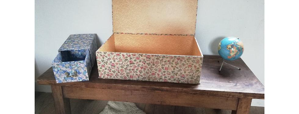 Deux boîtes vintage