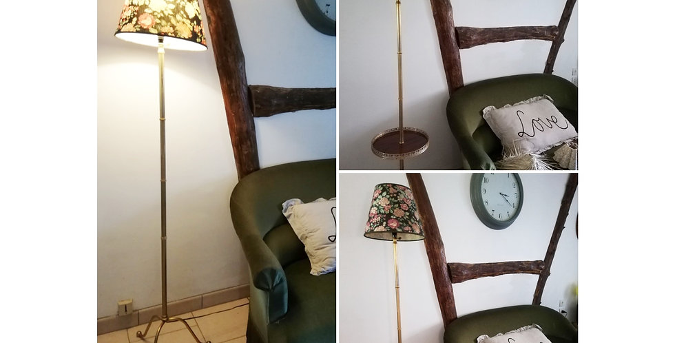 Lampadaire de salon pieds tripode