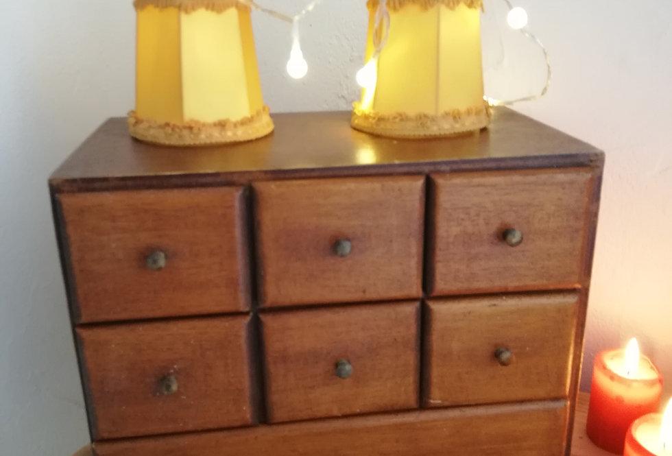 meuble de métier vintage a layette