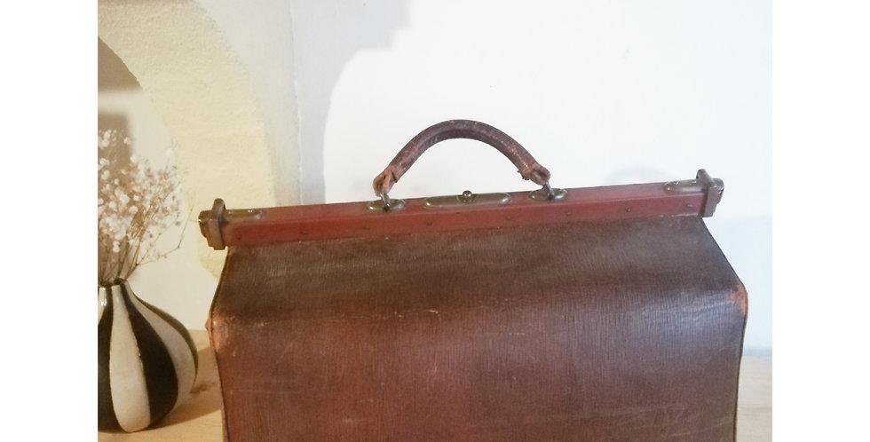 sac vintage sac medecin vintage cuir