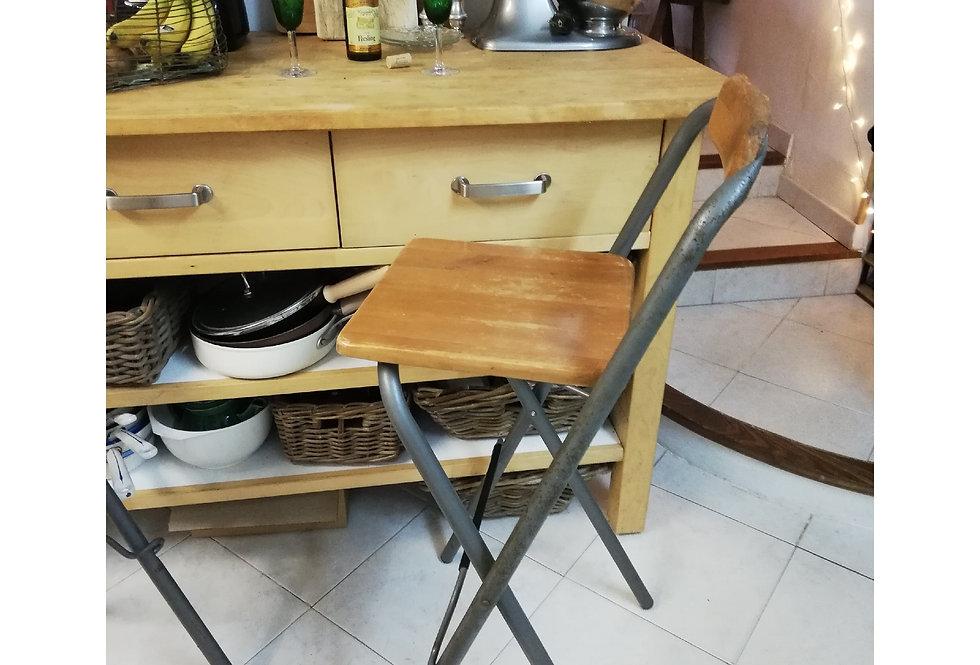 chaises hautes vintage bar ou plan de travail
