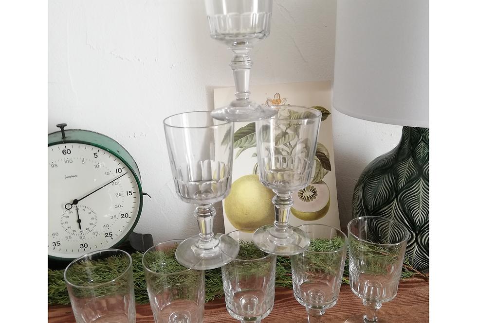 verres fin XIXe