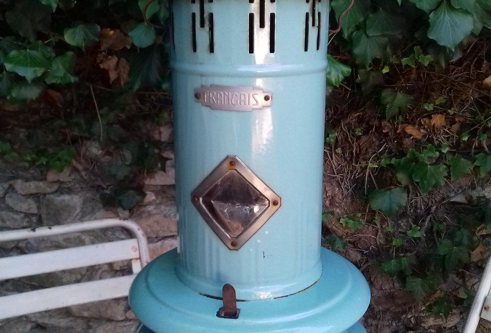 Poële a fuel decoratif 1950