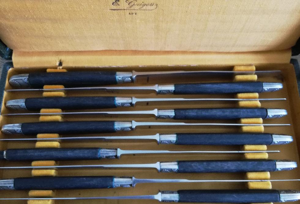 24 couteaux au Gaulois