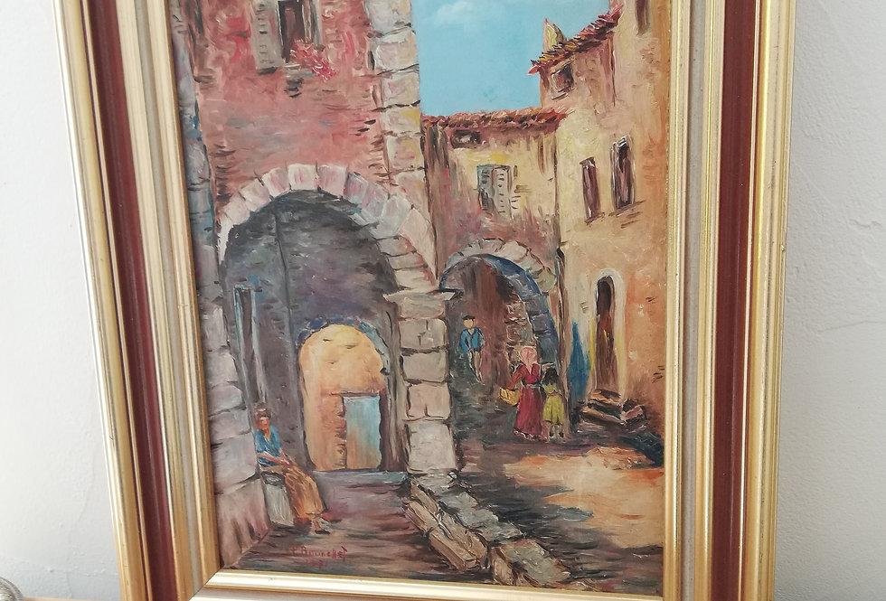 peinture de Bourchet