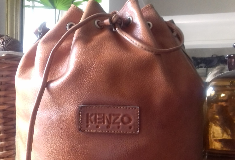 Sac Kenzo tout cuir