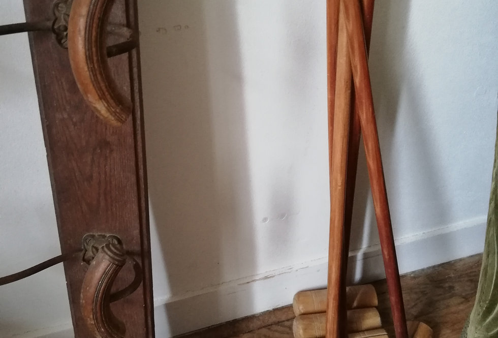 jeu de croquet ancien