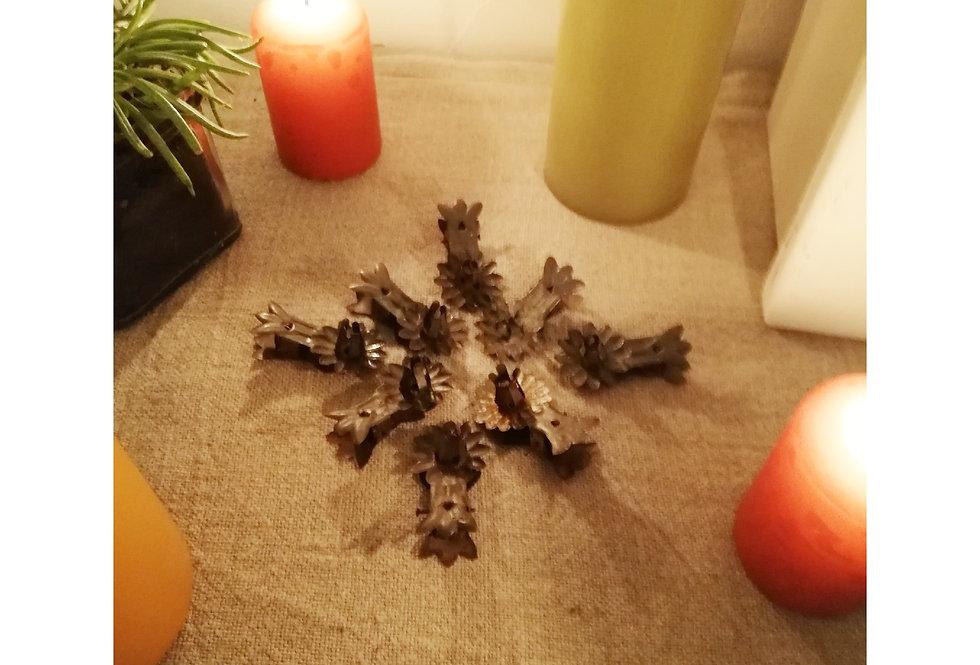 8 pinces pour bougies