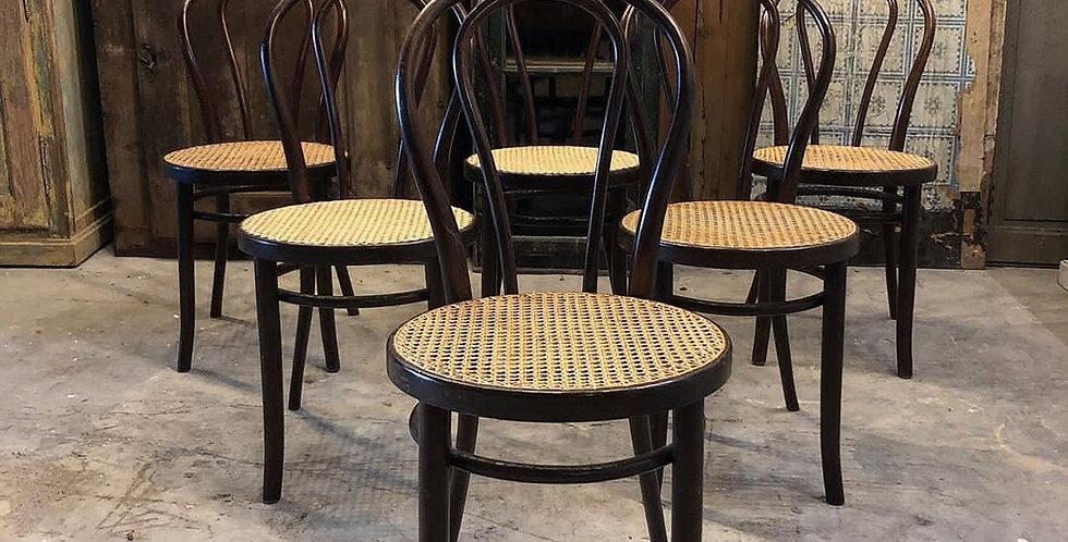 chaises bistrot n°18 de Thonet
