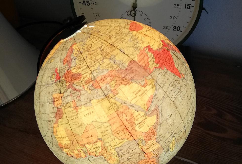 mappemonde lumineuse cartes taride