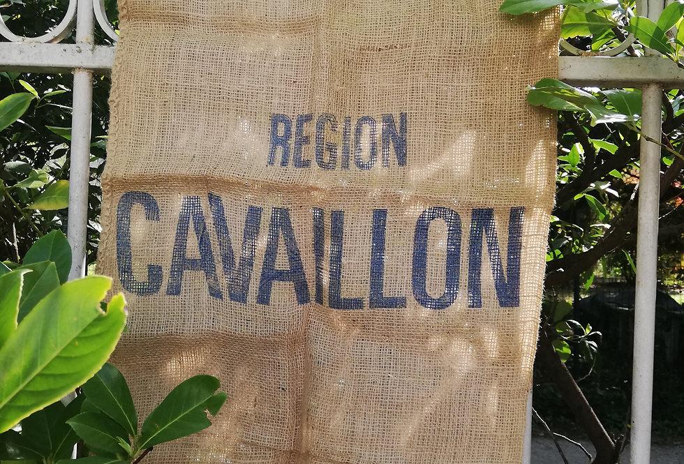 Grand sac en toile de jute (port inclus)