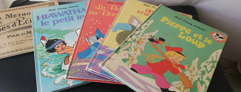 4 livres pour enfants années 50