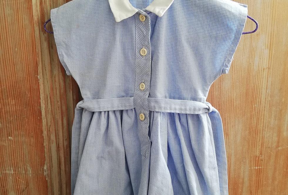 jolie robe vintage bleue