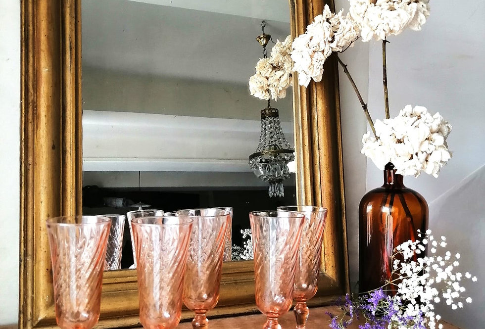 17 flûtes à champagne