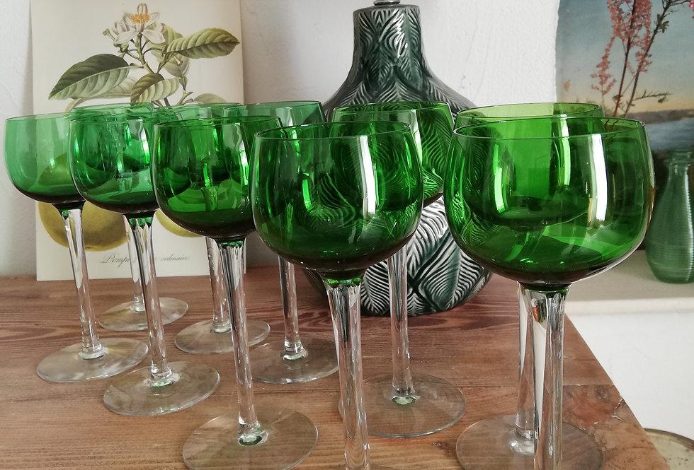 10 verres vintage