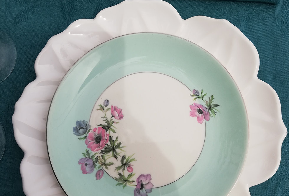 assiettes porcelaine anglaise Johnson brother