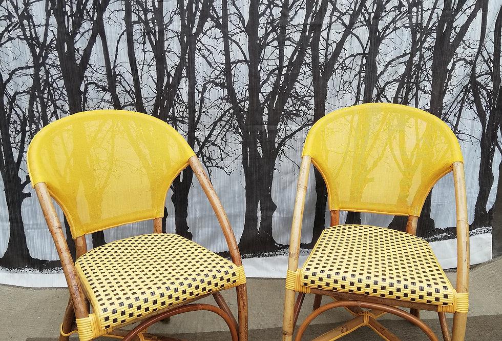 Chaises de bistrot Parisien