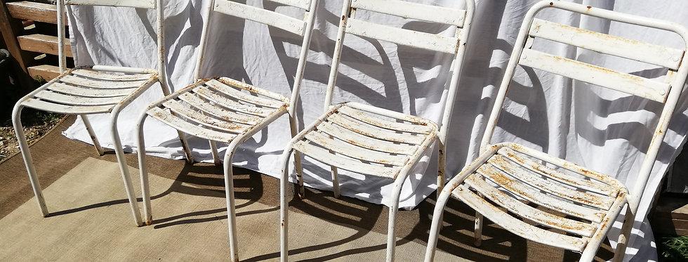 4 chaises bistrot  ⭐ livraison comprise