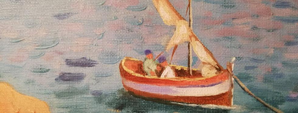 Grande Huile sur toile *frais de port inclus en colissimo