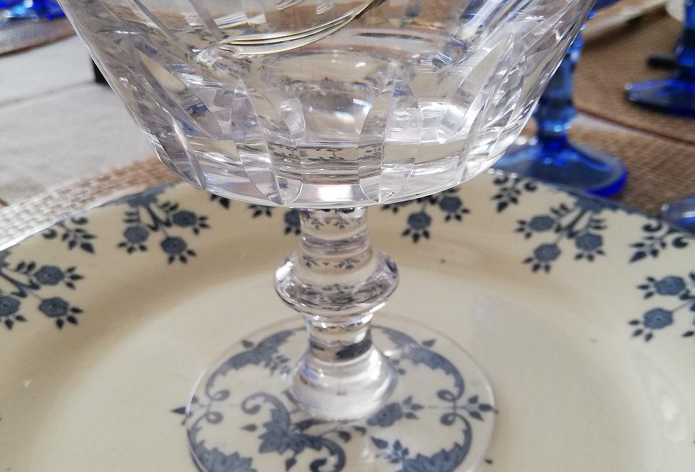coupes anciennes cristal ciselé