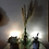 Thumbnail: Lampes vintage design 1950/70 lumière cristal pieds tripode french vintage