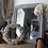 Thumbnail: Miroir vintage 1950 style Louis Philippe Mirror Louis Philippe style