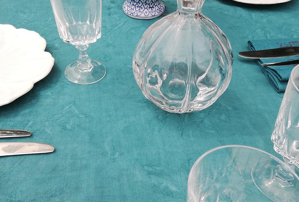 carafe en cristal bien galbée