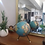 Thumbnail: Globe mappemonde tripode en tôle  ( Paris carte Taride) vintage 1940/1950 en tôl