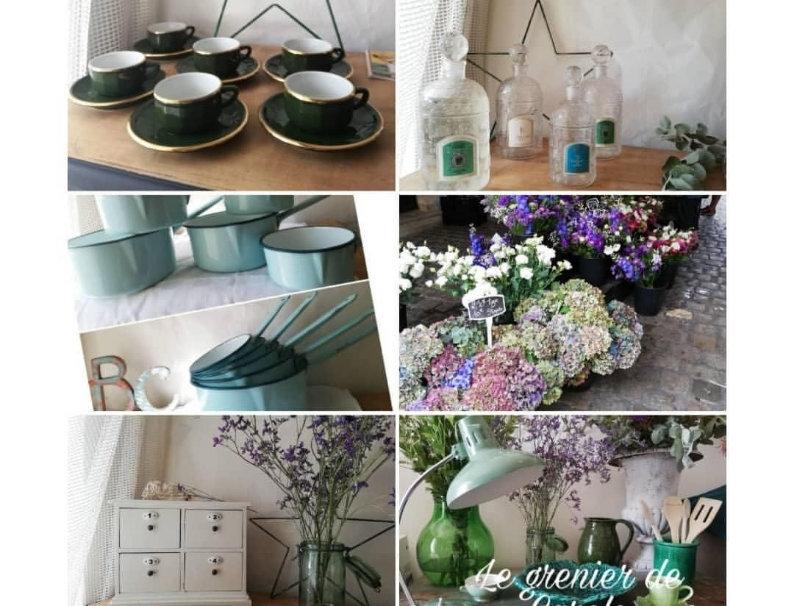 Brocante et décoration